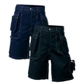 Black & Marine blue Shorts