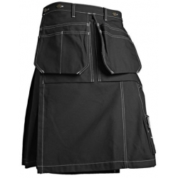 Black Toolpocket Kilt