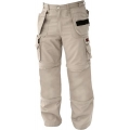 Khaki Combination Pants