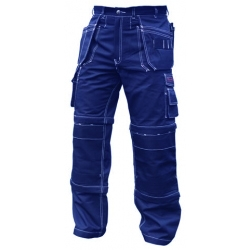 Navy blue Combination Pants