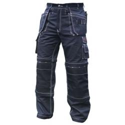 Black Combination Pants