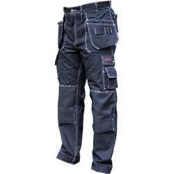 Black Cotton Trousers