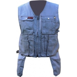 Grey Toolpocket Vest