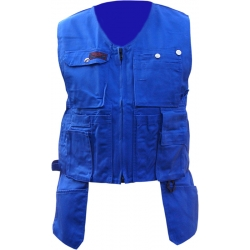 Royal blue Toolpocket Vest