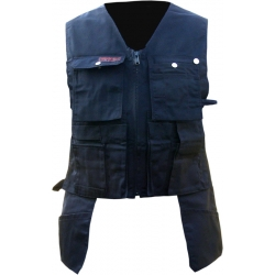 Black Toolpocket Vest